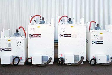 Maszyny i urządzenia do malowania dróg - Kotły do                topienia mas termoplastycznych