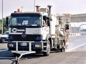 Systemy                aplikacji do malowania dróg na samochodach ciężarowych -                Przykład zastosowania