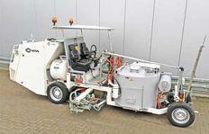Malowanie drog - Malowarki samojezdne - Przykład zastosowania: model H                33- 3 Universal
