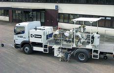 Malowanie dróg - aplikacja na ciężarówki H37
