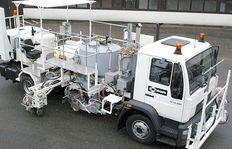 Malowanie dróg -                    aplikacja na ciężarówki H75