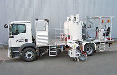 Malowanie dróg - aplikacja na ciężarówki H75-1500