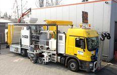 Malowanie dróg - aplikacja na ciężarówki H75-3000